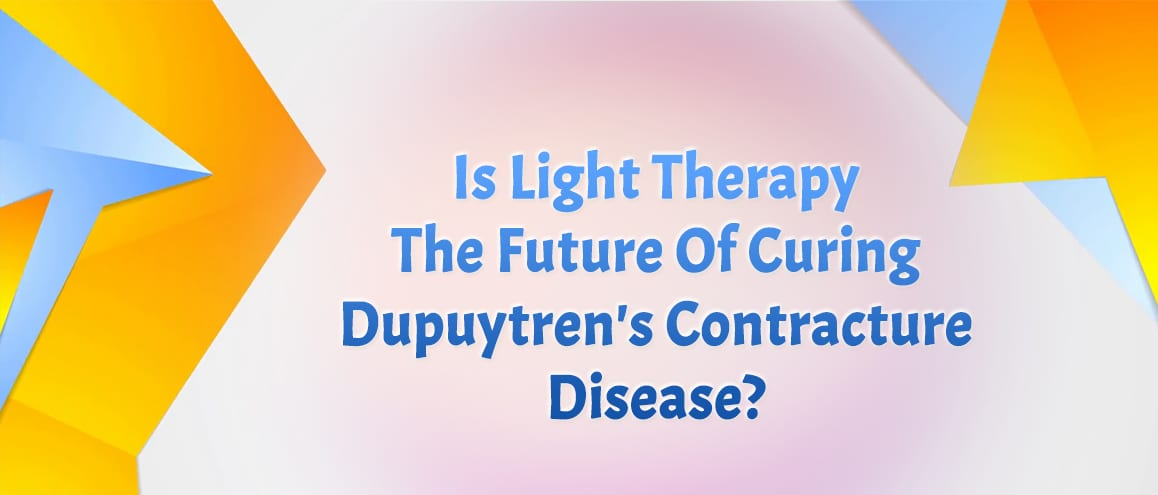 Light therapy treatment of Dupuytren's contracture
